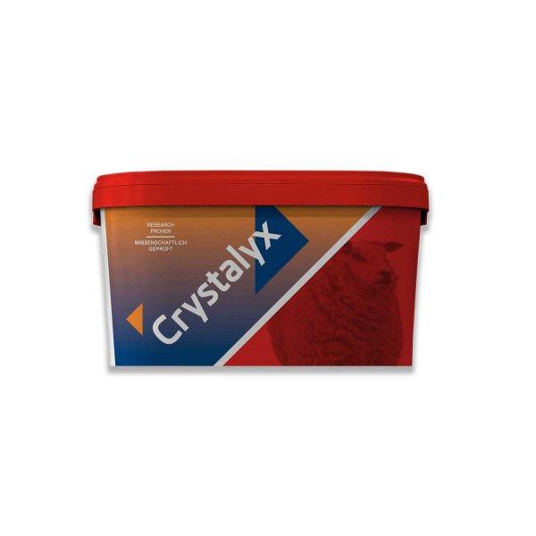 Crystalyx® Extra Energie Leckstein rot für Schafe, Ziegen & Gatterwild, 22,5 kg