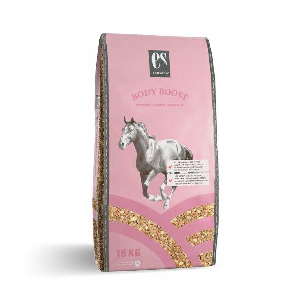 Equsana Body Boost Muskelaufbau für Pferde, 15 kg