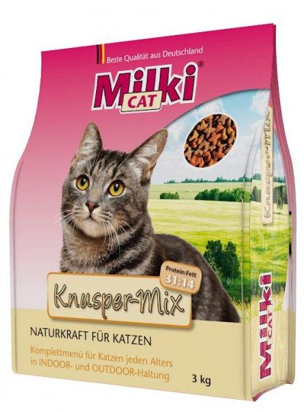 Milki Cat® Knusper-Mix, 3 kg