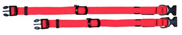 Trixie Flash Halsband, Größe L-XL, 55-70 cm, 25 mm, signalorange