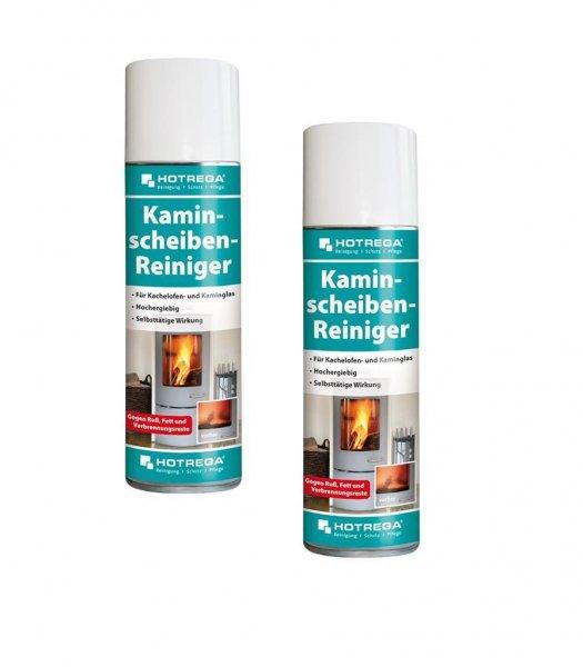 Hotrega Kaminscheiben-Reiniger im Doppelpack, 2x 300 ml