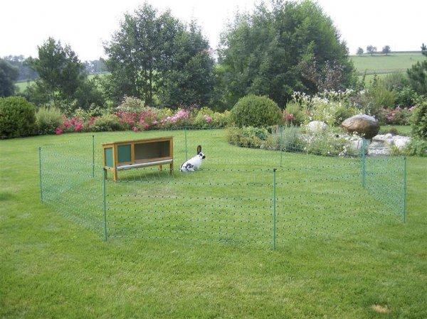 Kerbl Kaninchennetz, 12 m, grün