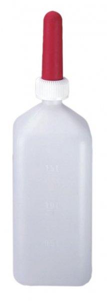 Kerbl Milchflasche, komplett montiert, 2 l