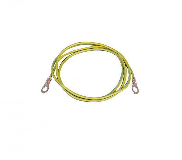 Kerbl Spezial-Erdanschlusskabel mit 2 Ösen M8, 100 cm