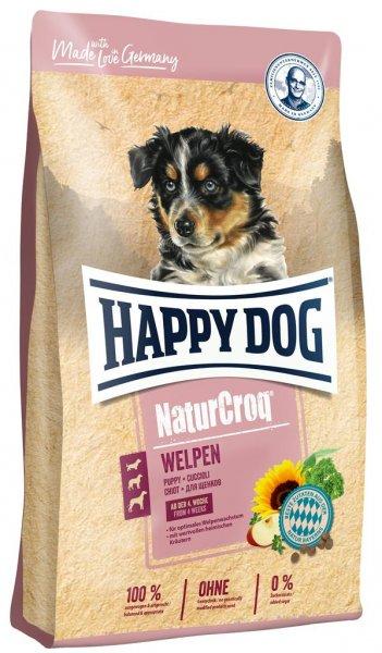 Happy Dog NaturCroq für Welpen, 15 kg