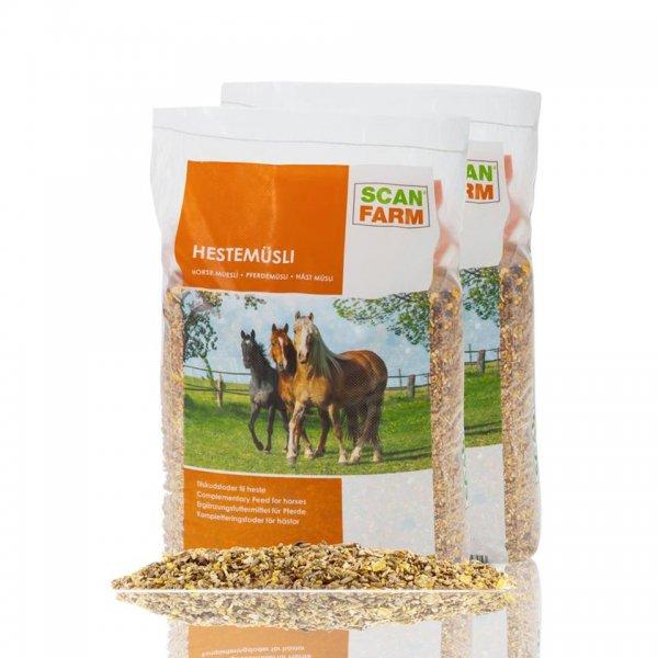ScanFarm® Pferdemüsli im Doppelpack, 2x 15 kg