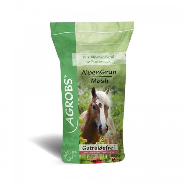 Agrobs Pre Alpin® AlpenGrün Mash, 15 kg
