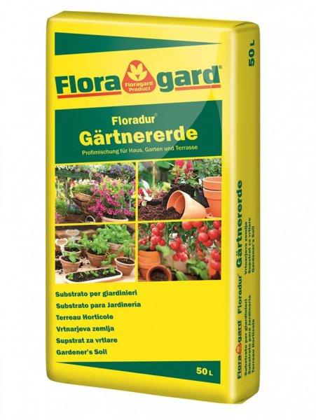 FloraGard Gärtnererde, 50 l