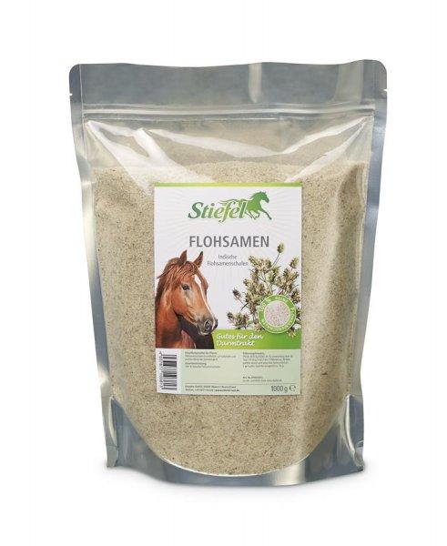 Stiefel Flohsamen Schalen für Pferde, 1 kg