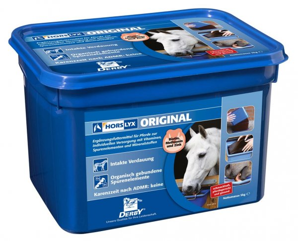 Derby® Horslyx Original Leckstein für Pferde, 5 kg