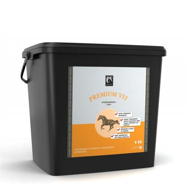Equsana Premium Vit Caps Mineralfutter für Pferde, 5 kg