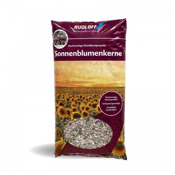 Rudloff Sonnenblumenkerne für Wildvögel, gestreift 2-fach gereinigt, 2,5 kg