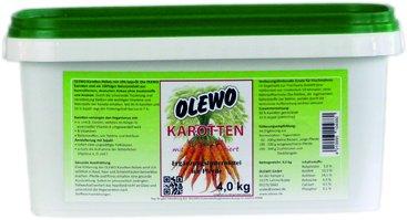 Olewo Karotten-Pellets mit Öl für Pferde, 4 kg