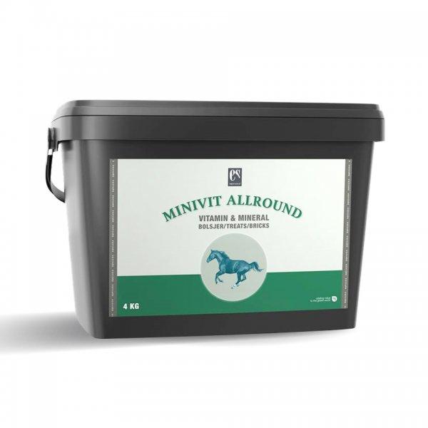 Equsana Minivit Allround Leckerlies für Pferde, 4 kg