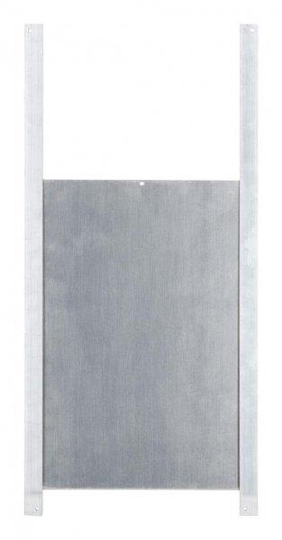Kerbl Schiebetür für die automatische Hühnertür, 220x 330 mm, Alu