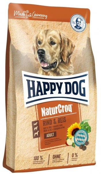 Happy Dog NaturCroq Rind & Reis, 4 kg