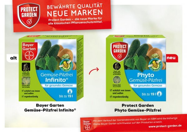 Protect Garden Phyto Gemüse-Pilzfrei, 50 ml