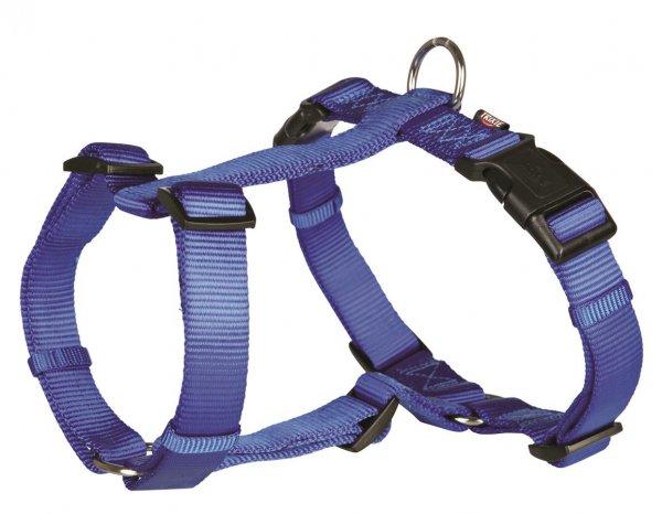 Trixie Premium H-Geschirr, Größe XS-S, 30-40 cm, 10 mm, blau