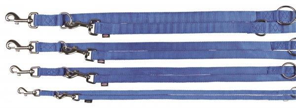 Trixie Premium V-Leine, Größe XS-S, 2,00 m, 15 mm, blau
