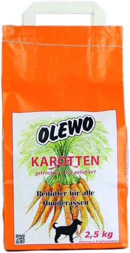 Olewo Karotten-Pellets für Hunde, 2,5 kg
