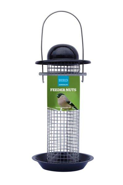 GardenLife Futterautomat für Nüsse, 12x 24 cm