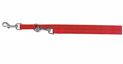Trixie Premium V-Leine, Größe XS, 2 m, 10 mm, rot