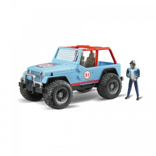 Bruder Jeep Cross Country Racer, blau
