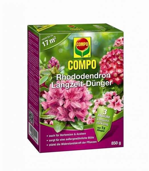 Compo Rhododendron Langzeit-Dünger, 850 g