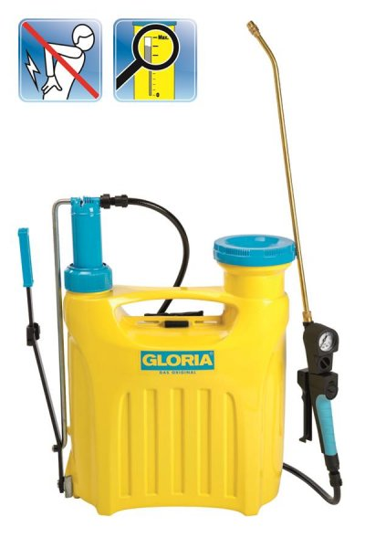 Gloria Kolbenrückensprühgerät Hobby 1200, 12 l
