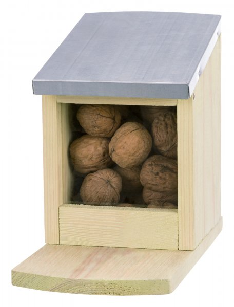 Trixie Futterstation für Eichhörnchen, 12x 18x 24 cm