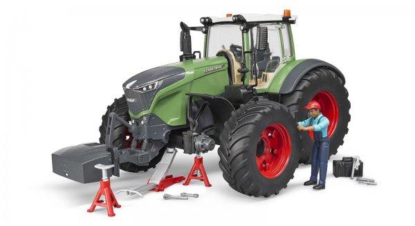 Bruder Fendt Traktor 1050 Vario mit Mechaniker