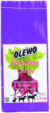 Olewo Rote Beete Chips, 1 kg