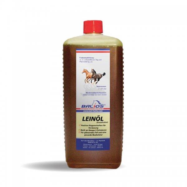 Balios Leinöl für Pferde, 1 l