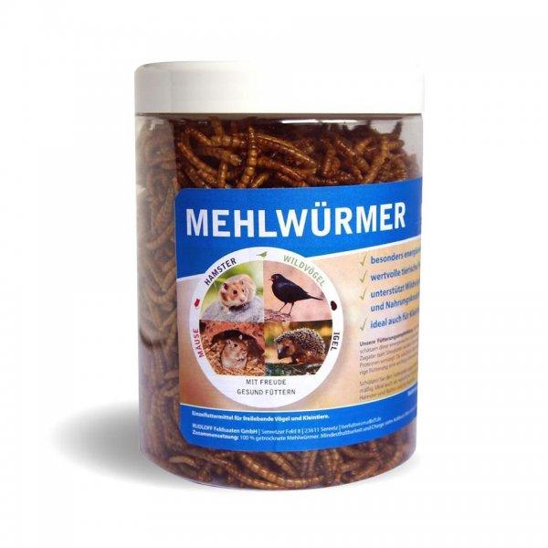 Rudloff Mehlwürmer in Dose, 150 g