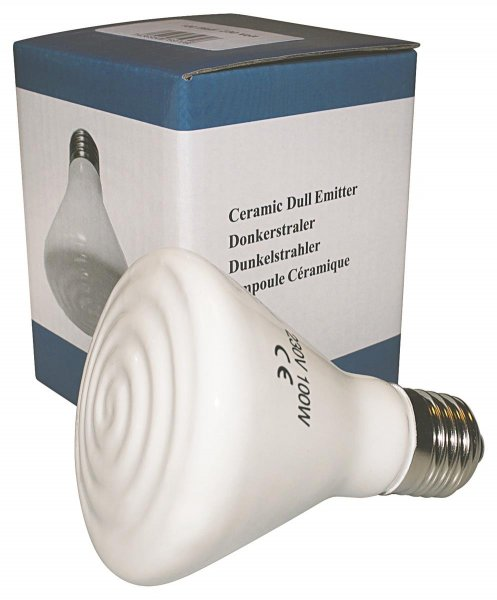 Ryom Infrarot Keramik Wärmelampe, 100 W