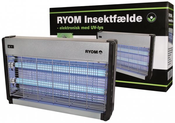 Ryom Elektrischer Insektenvernichter 2x 15 W, 150 m²